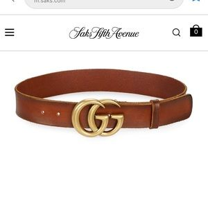 Authentic Gucci belt from Saks fifth Avenue.